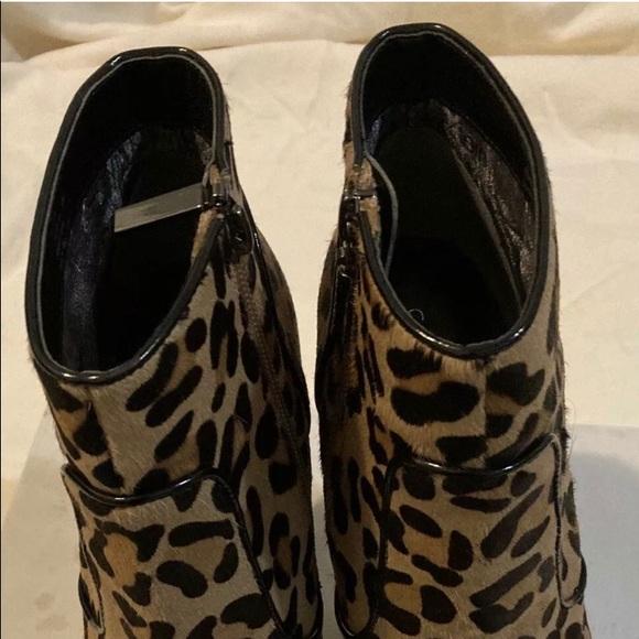 Calvin Klein Shoes   Leopard Booties